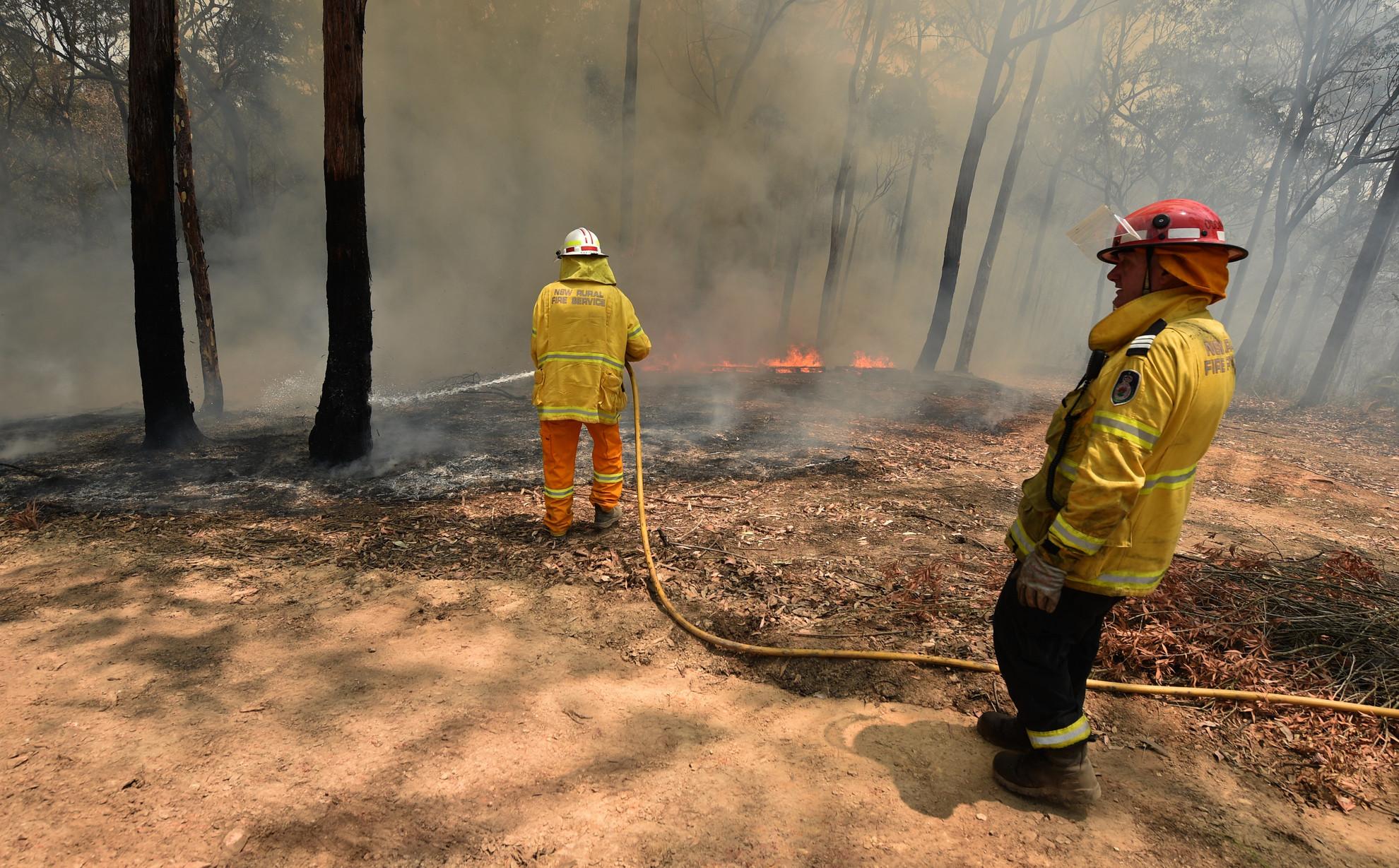 A tűzoltók mindent bevetnek a tüzek megfékezése érdekében