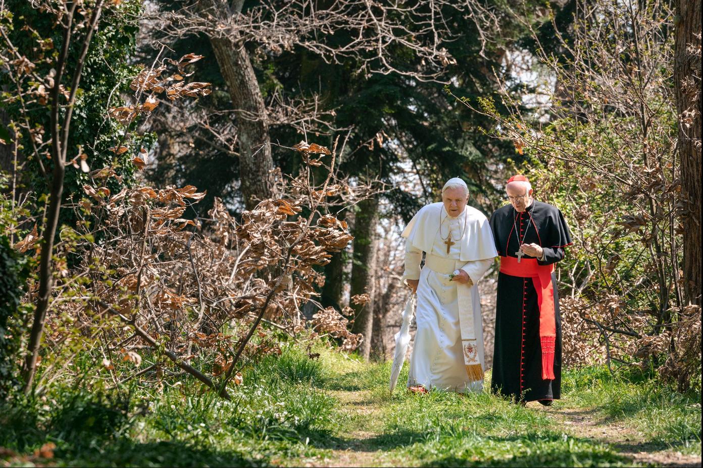 A két pápa szintén a Netflix produkciója