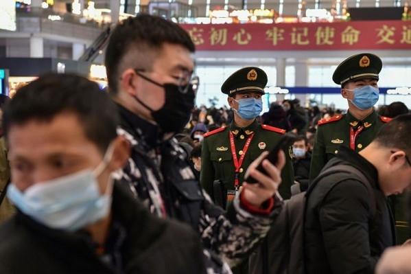Fokozott ellenőrzés a sanghaji vasútállomáson