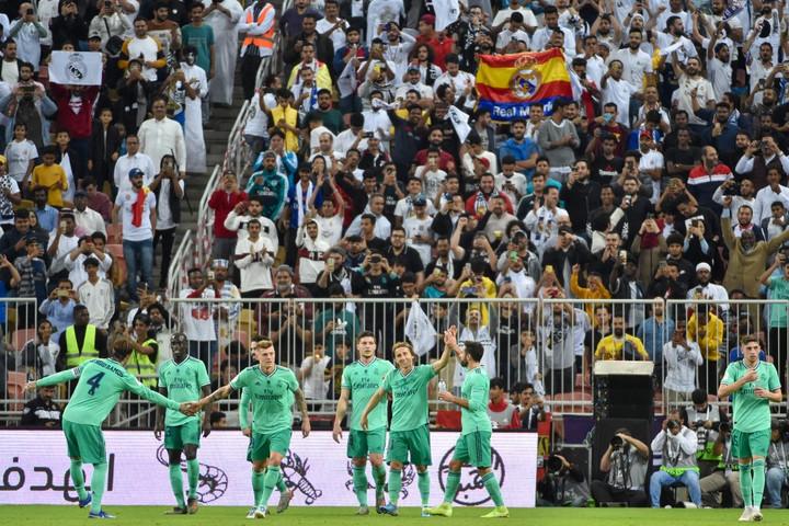 Döntős a Real Madrid a Spanyol Szuperkupában