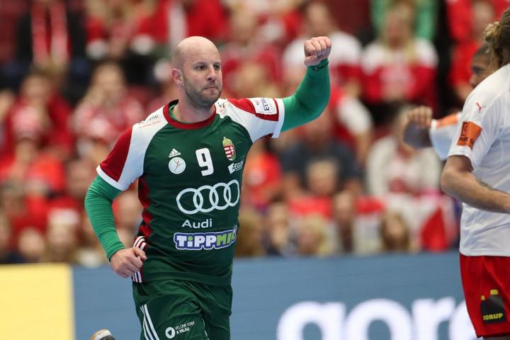 Kézilabda: Bravúros döntetlent játszott a magyar csapat az olimpiai bajnok dánokkal