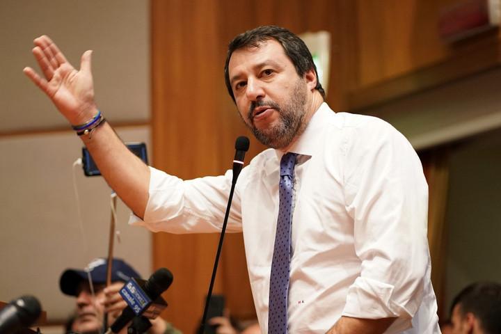 Salvini: Szürreális a magyar kormány elleni támadás