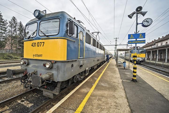 Gyorsabban lehet eljutni vasúton Zalaegerszegre