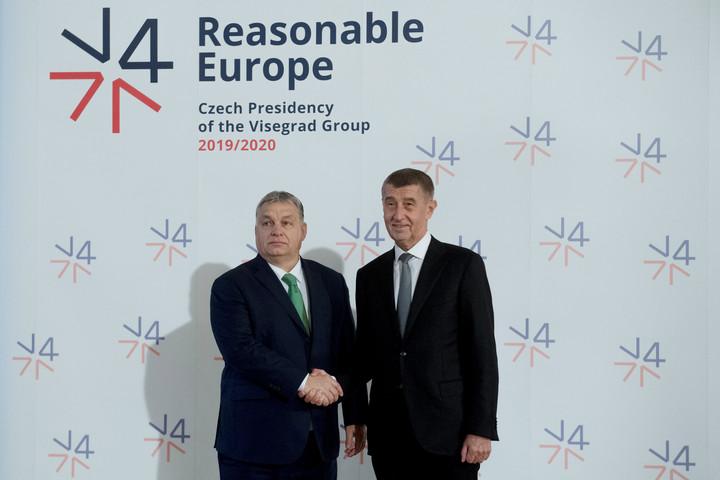 Elkezdődött a visegrádi négyek prágai csúcstalálkozója