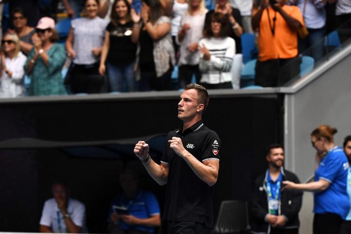 Fucsovics bravúros győzelemmel jutott a második körbe az Australian Openen