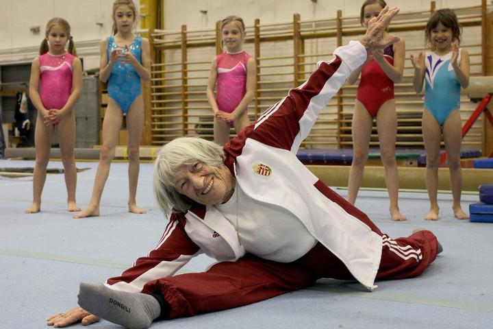 Egy híján száz éves Keleti Ágnes, minden idők legeredményesebb magyar női olimpikonja