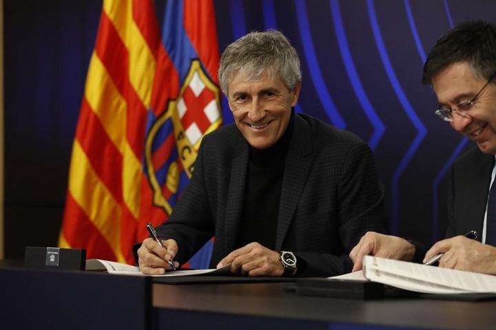 Cruyff hű követője a Barca kispadján: Quique Setién