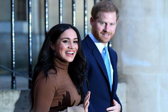 Függetlenedni szeretne a királyi családtól Harry herceg és Meghan hercegné