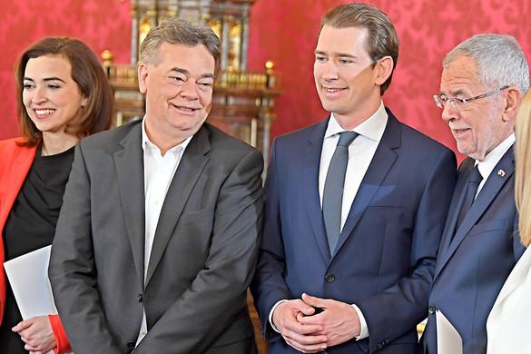 Hivatalba lépett az osztrák kormány
