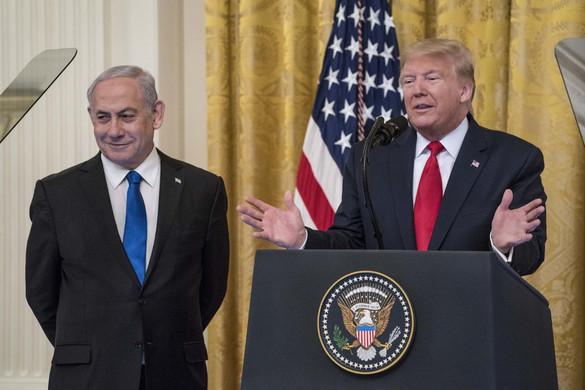 Donald Trump kétállami megoldást javasol a palesztin-izraeli konfliktus rendezésére