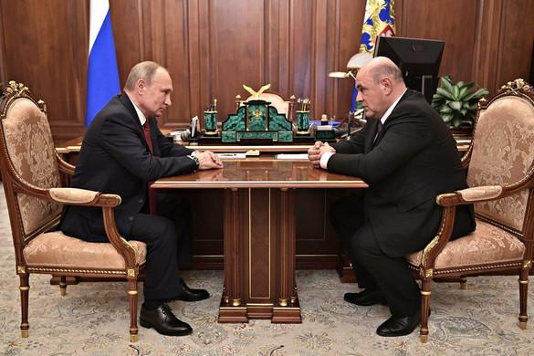 Kormánycsere Oroszországban