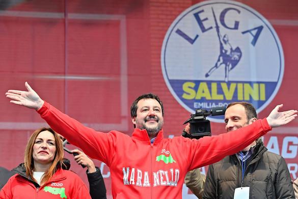Kormányváltást jósol Olaszországban Salvini