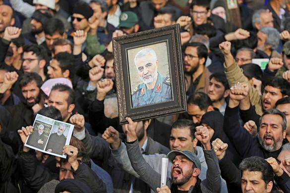 Trump kivégeztette a perzsa kémvezért