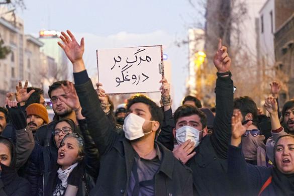 Irán elismerte: tévedésből lőtt