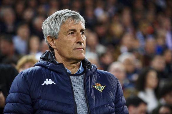 Quique Setién lett a Barcelona új vezetőedzője