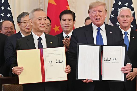 Kereskedelmi tűzszünetet kötött Kína és Amerika