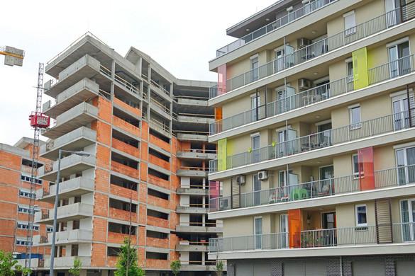 Jóval több új lakás épült tavalyhoz képest