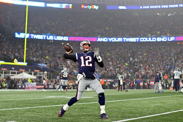 Brady nem búcsúzkodik