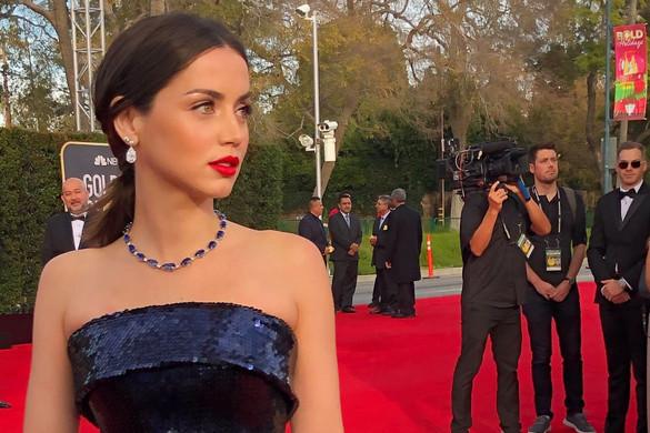 Így készültek a Golden Globe sztárjai a vörös szőnyegre