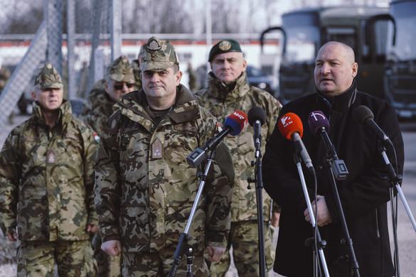 Megduplázzák a határvédelemben részt vevő katonák számát