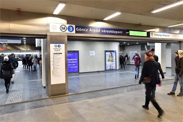 Átnevezték az Árpád híd metróállomást