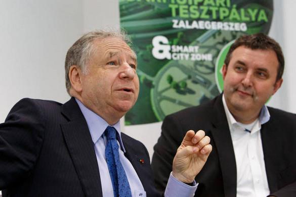 Jean Todt meghívására Palkovics közlekedésbiztonsági előadást tart a FIA ülésén