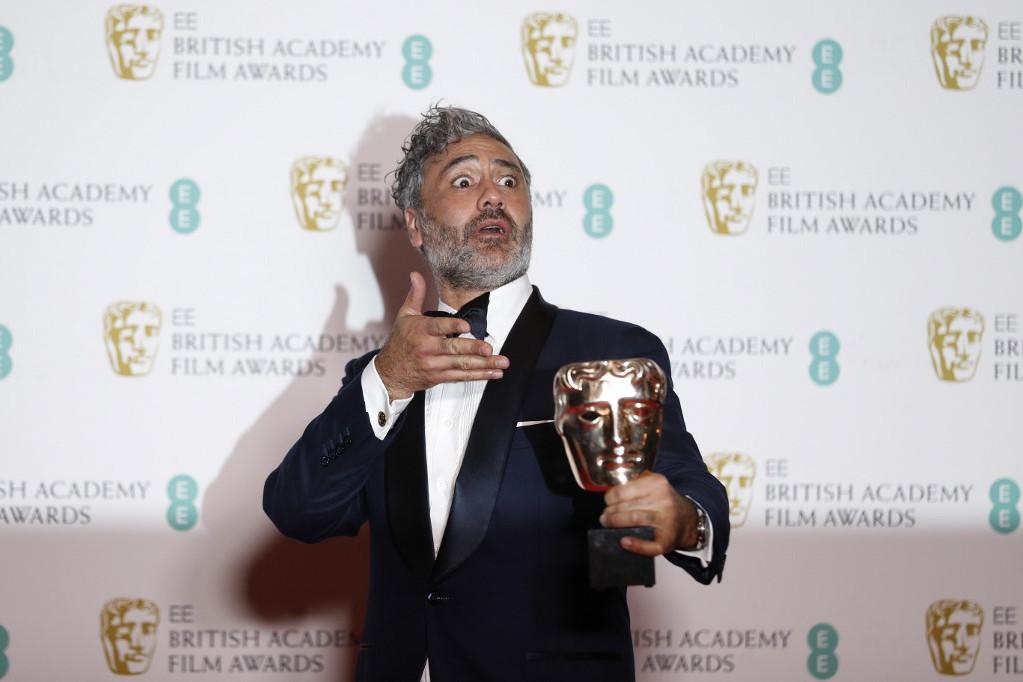 Taika Waititi a legjobb adaptált forgatókönyvért járó díjjal