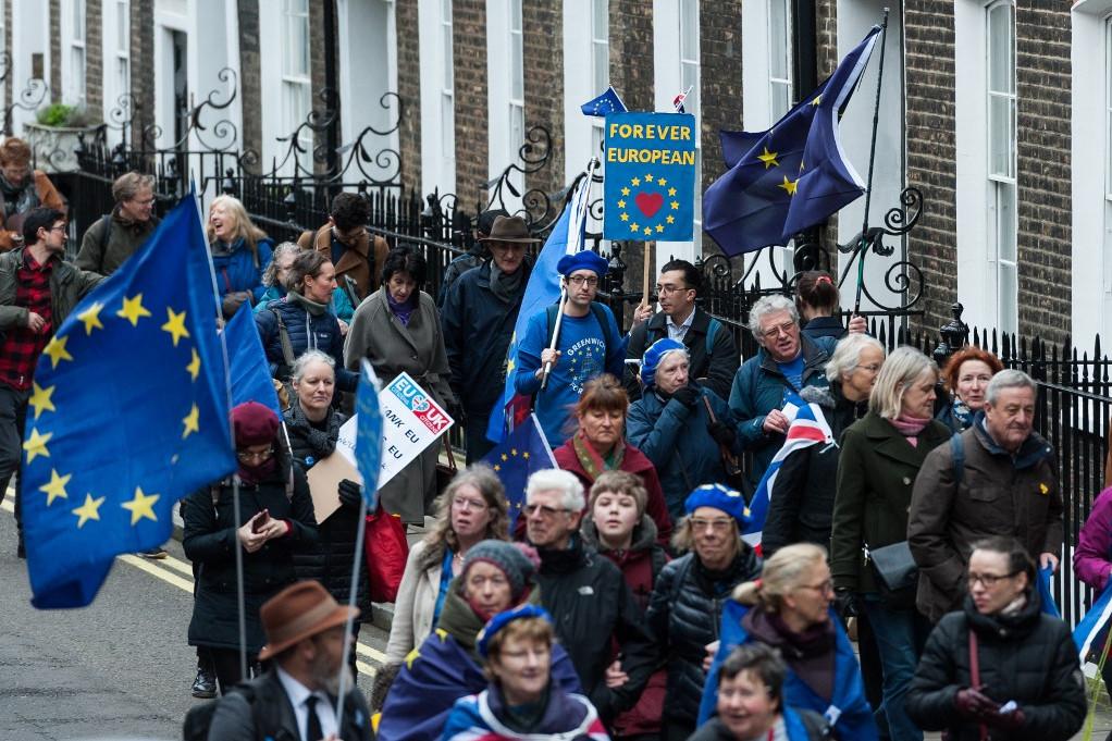 Nem mindenki örült a Brexitnek, sokan még a kilépést napján is kiálltak az EU-ban maradás mellett
