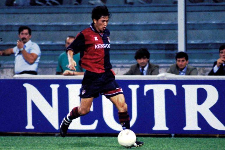 Miura volt az első japán légiós a Serie A-ban