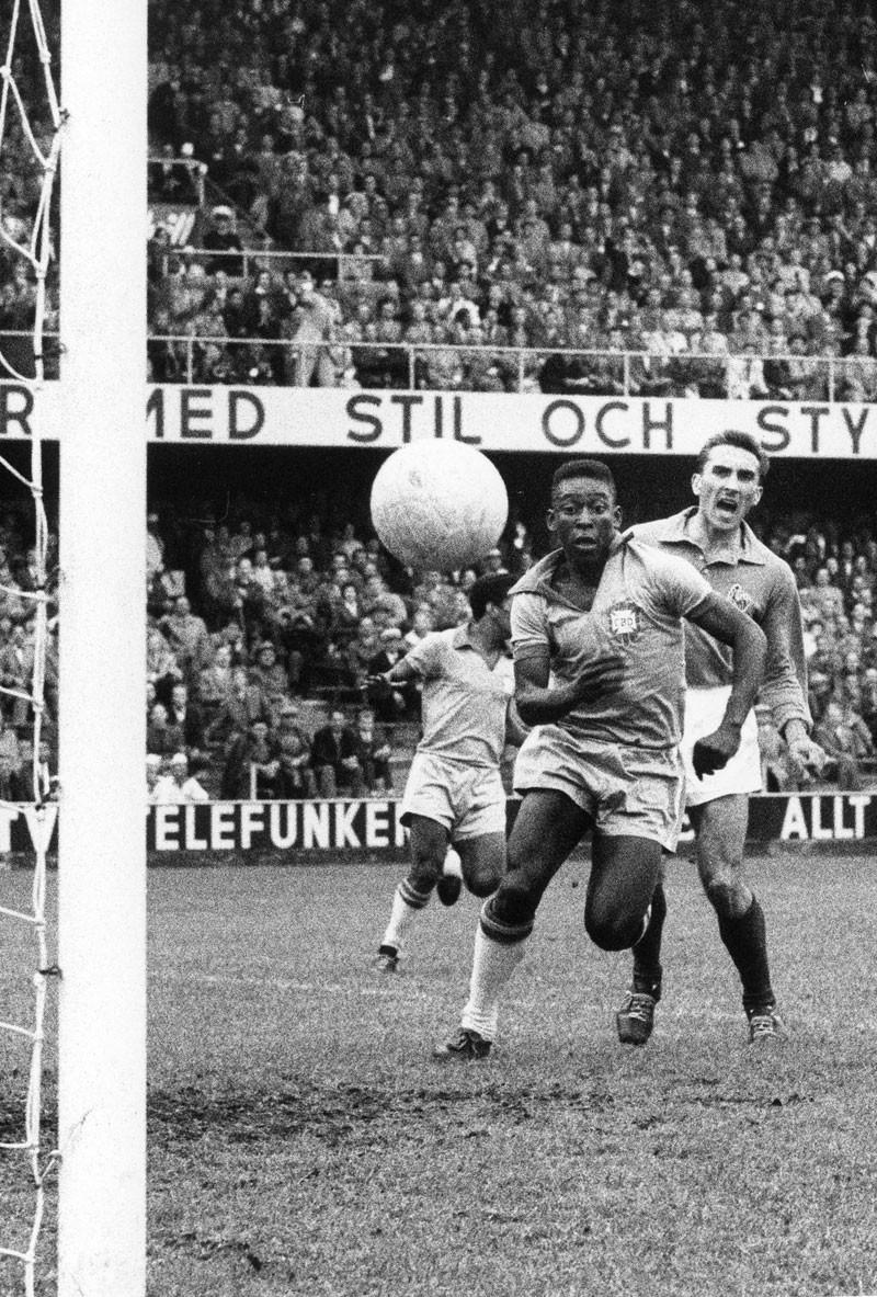 Pelé úton a világhírnév felé: az 1958-as vb-n a franciáknak három gólt lőtt