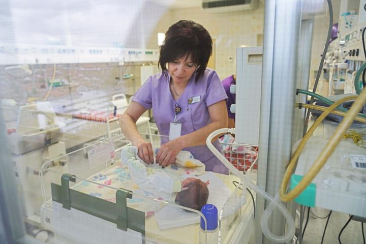 Felújított koraszülöttosztályt adtak át a dél-pesti kórházban