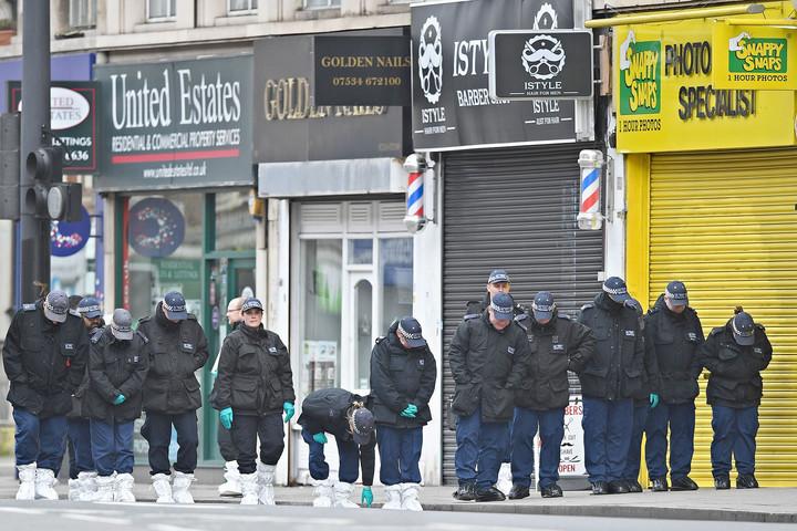 Tombol a bűnözés Londonban