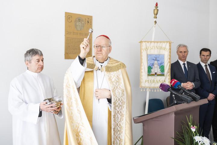 Új közösségi házat kapott a pestszentimrei római katolikus plébánia