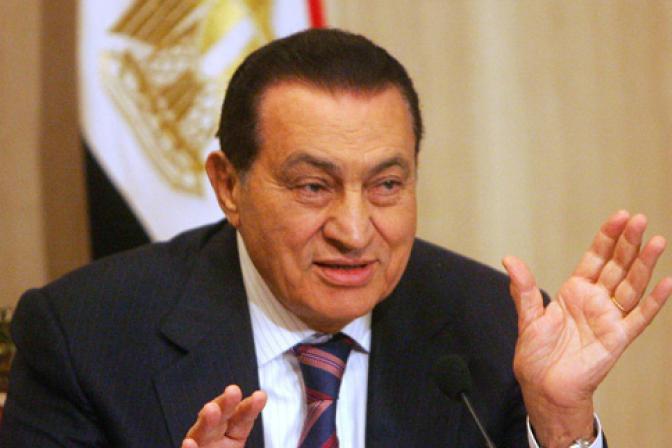 Elhunyt Hoszni Mubarak