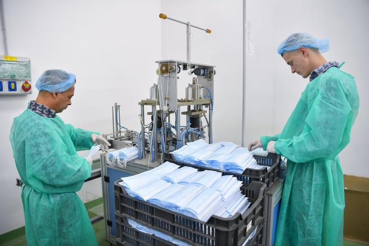 Fogvatartottak is segítik a koronavírus elleni védekezést