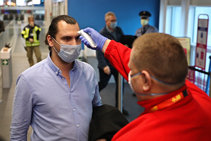 Így védekeznek a koronavírus ellen a Liszt Ferenc-repülőtéren