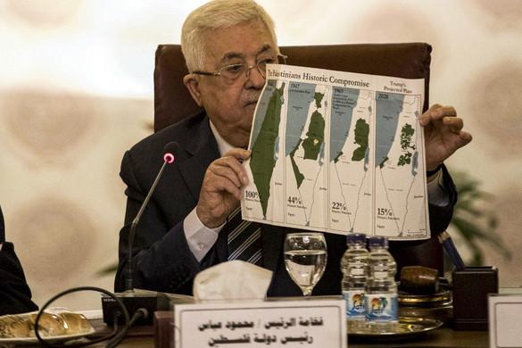 A palesztinok minden kapcsolatot megszakítanak Izraellel és az Egyesült Államokkal