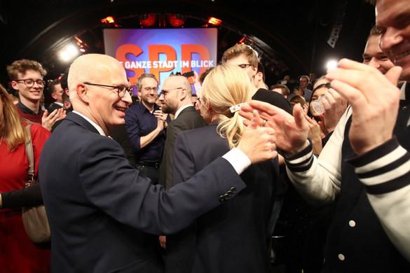 A szociáldemokraták kapták a legtöbb voksot a hamburgi tartományi választáson