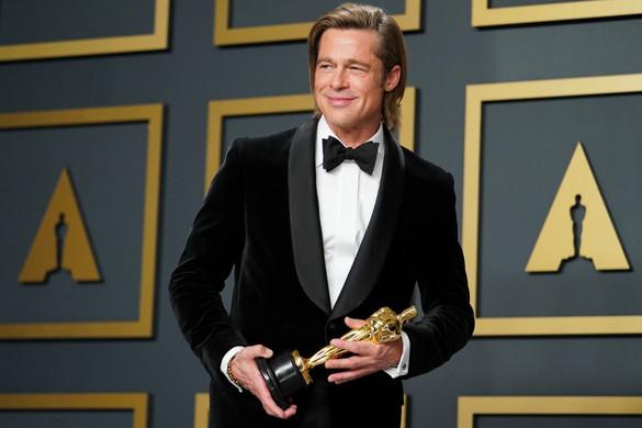 Végre Brad Pitt is kapott egy Oscart