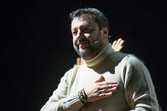 Matteo Salvini kijelentette, készen áll bíróság elé állni