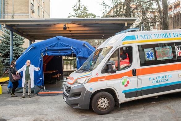 Újabb négy ember halt meg a koronavírus miatt Észak-Olaszországban