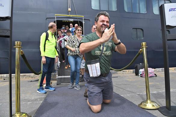 Koronavírus: ismét szabadok a Westerdam utasai