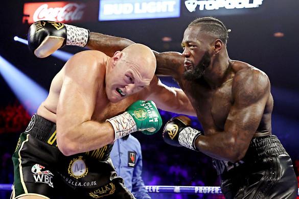 Technikai K. O.-val tért vissza a ringbe Tyson Fury