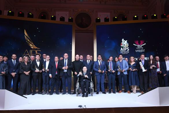 Átadták a Nemzetközi Sportújságíró Szövetség díjait