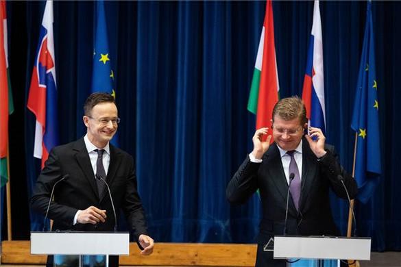 A magyar-szlovák gázösszeköttetés kapacitását mindkét irányba növelni akarják