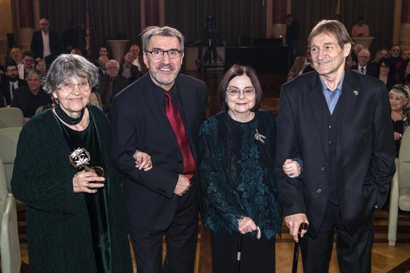 Négyen vehették át a Magyar Filmakadémia életműdíját