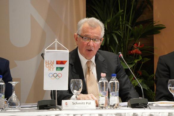 Schmitt Pál: Ilyen helyzet még nem volt az olimpiai mozgalomban