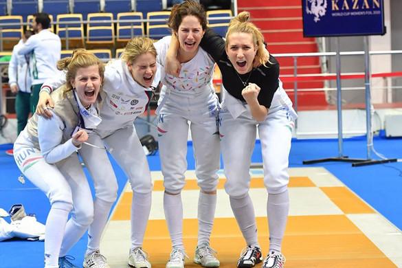 Kijutott a tokiói olimpiára a magyar női tőrcsapat