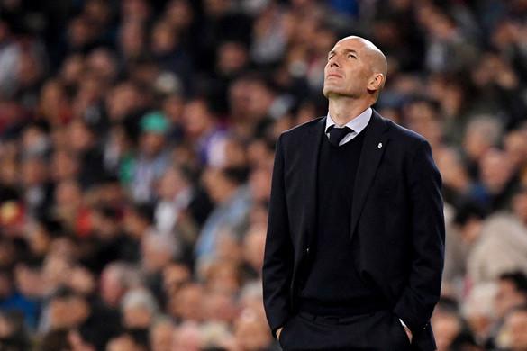 Zidane Madridja ilyen kútban  még nem volt