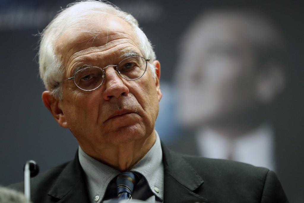 Josep Borrell, az EU kül- és biztonságpolitikai főképviselője